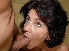 Cock sucking granny porn